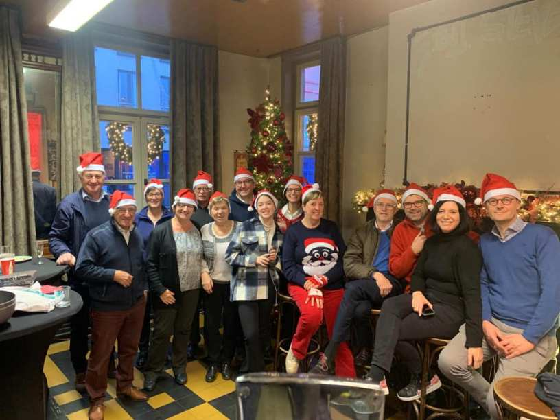 Kiwanis kerstfeest